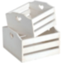love heart white wooden planters prop hire wedding and events