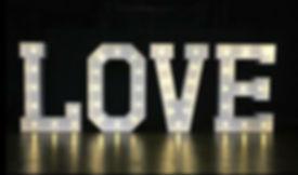 4ft Love Letter Hire
