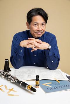 群馬交響楽団第一クラリネット奏者 野田祐介さん