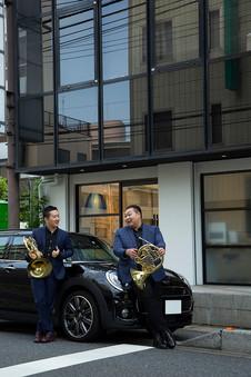 群馬交響楽団第一ホルン奏者  濱地宗さん  ホルン奏者  Jaehyung Kimさん