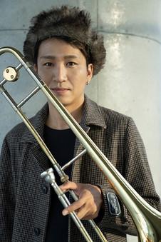 トロンボーン奏者 馬場桜佑さん