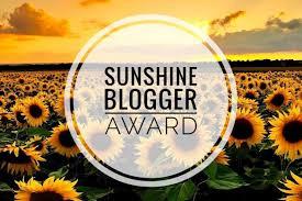 The Sunshine Blogger Award 2020