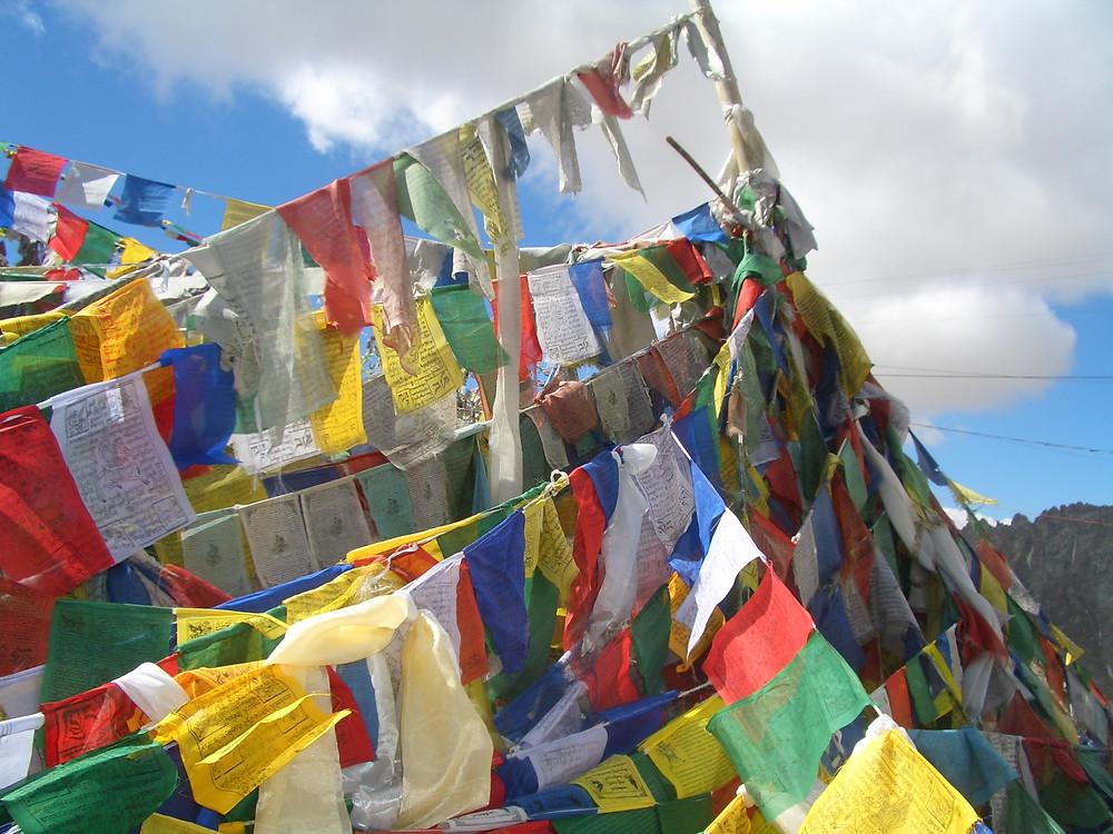 Khardung la pass; ladakh; india; montagne; passo carrozabile più alto del mondo