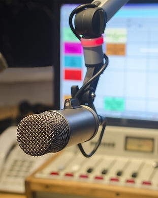 microphone and audio console in a radio studio.jpg