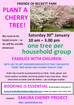 Help us plant cherry trees