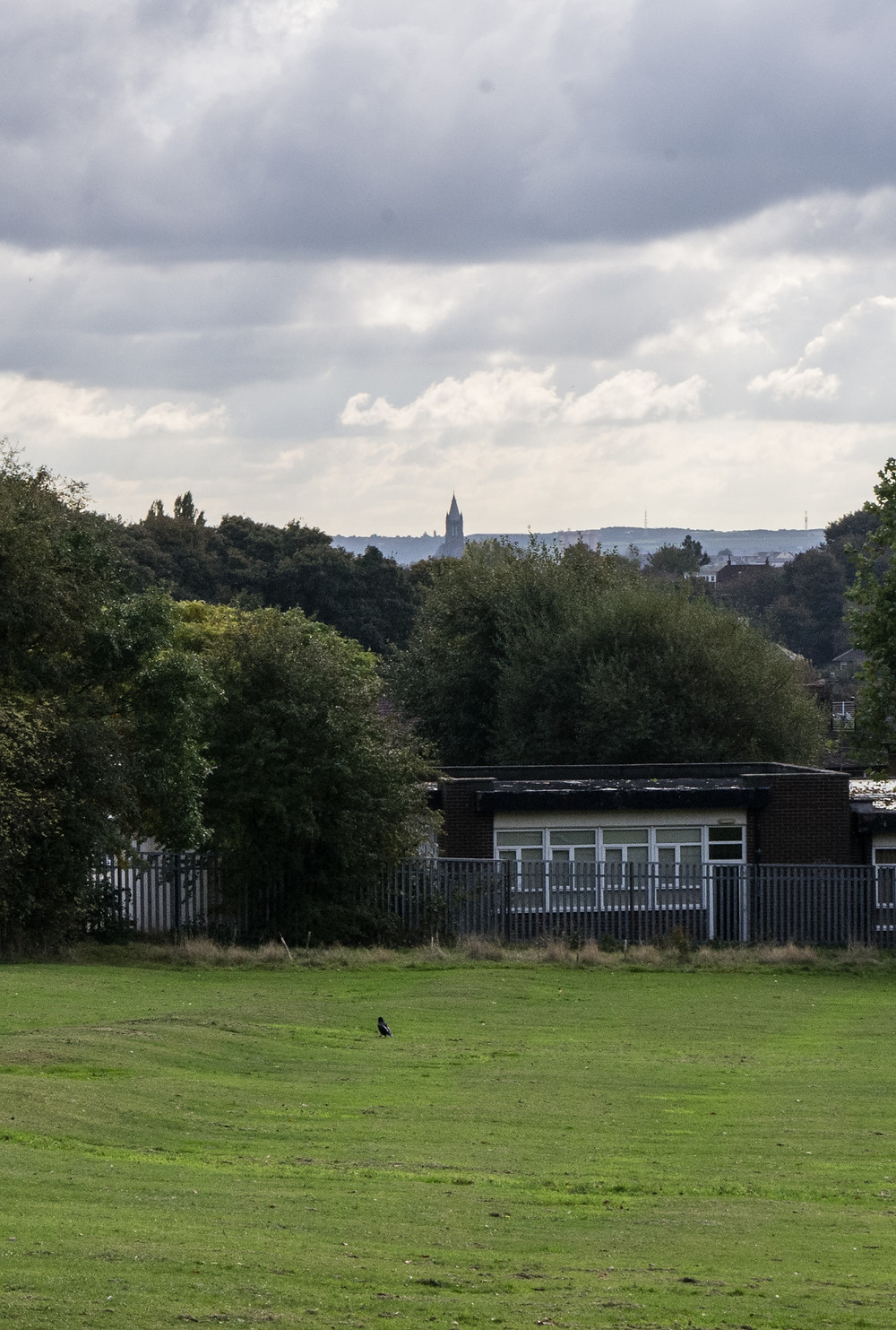 St Bartholomew's Armley on the horizon.