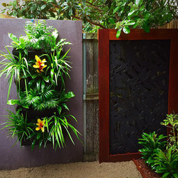 Greenwall and deco screen botany