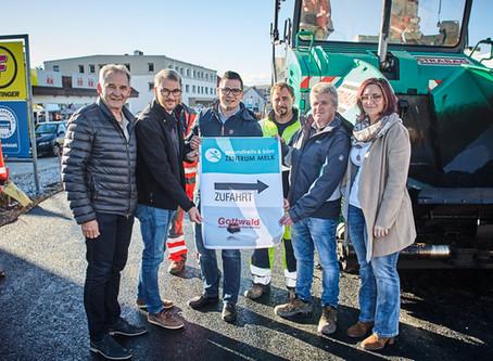 Josef Adlmanseder-Straße - Ein neuer Straßenzug in Melk für die weitere Stadtentwicklung!