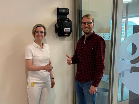Defibrillator im GBZ Melk
