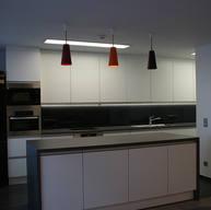 Küche in der Kantine