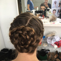 One of the braids I managed to take a pi