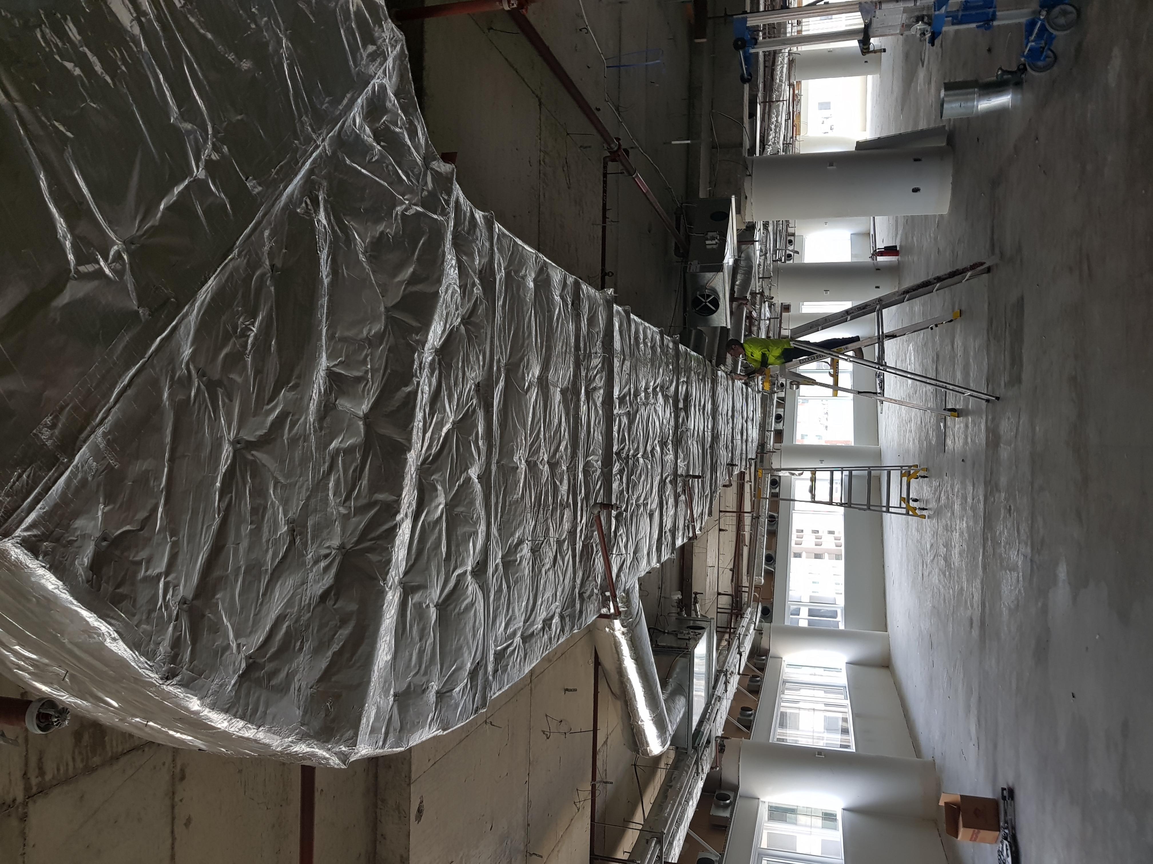 Ductwrap, acoustic, insulation