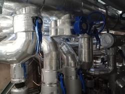 HVAC, thermal insulation, plant