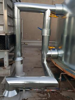 pipe clad, pipe lagging, HVAC