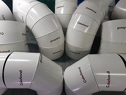 Pipe cladding, Colourbond, sheetmetal, HVAC, Insulation, cladding