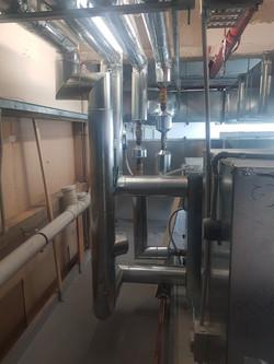 HVAC, thermal insulation, cladding