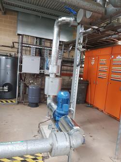 HVAC Pump, lag, clad, HVAC