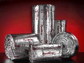 Fire Wrap, Fyrewrap, HVAC, Duct.
