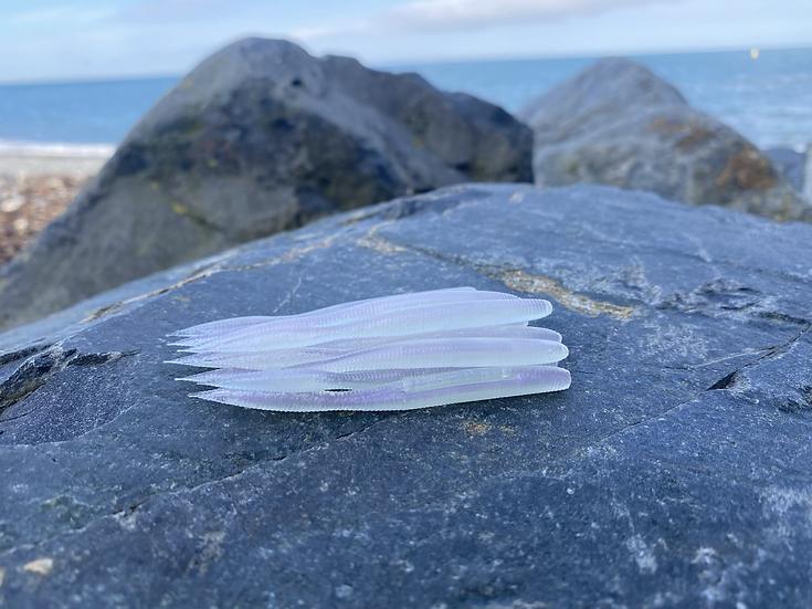 3.25inch Iridescent Purple bulb tails