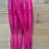 Thumbnail: 5.25inch Fluro Pink with Silver Glitter