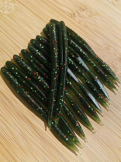 Glitter Tartan 3.25inch Bulb Tails