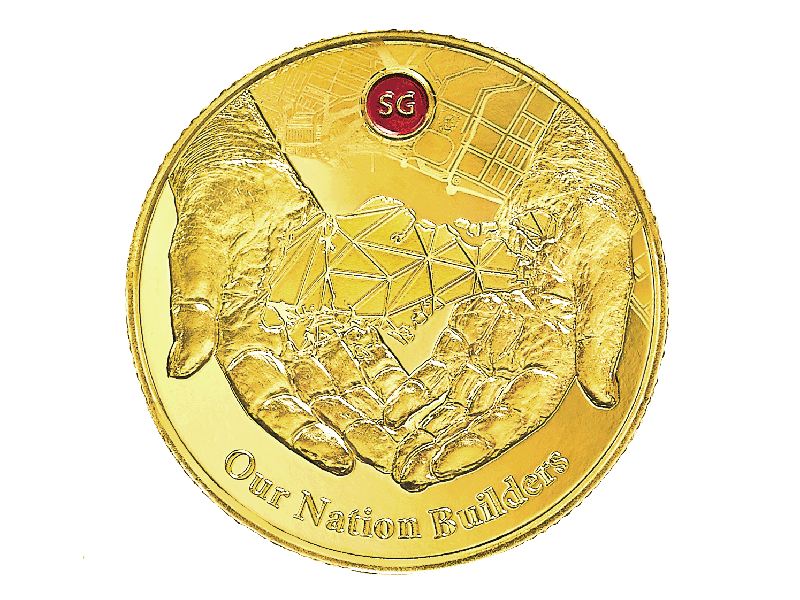 G2 Gold Coin Front