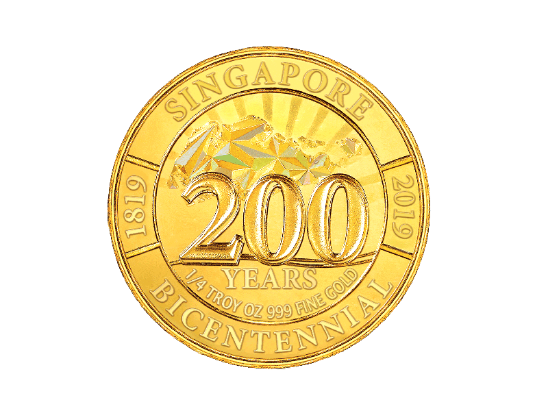 G2 Gold Coin Reverse