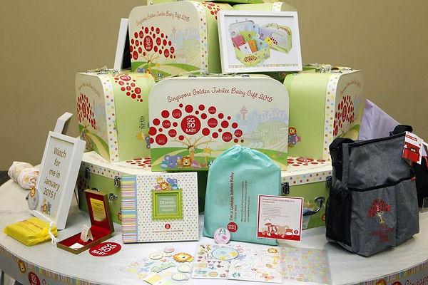 SG50 Jubilee Baby Gift