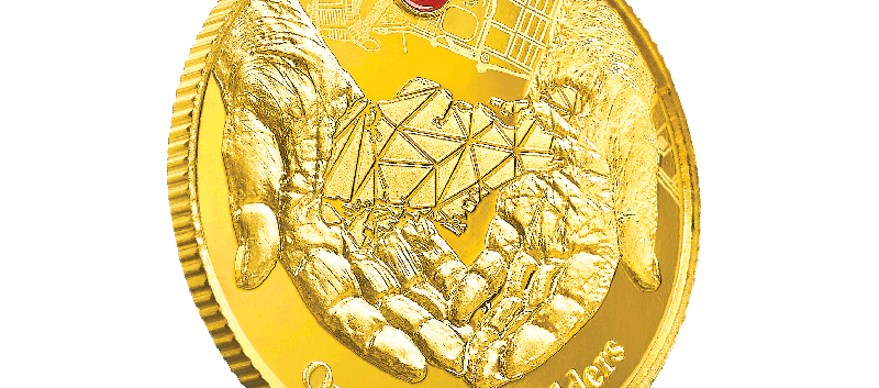 G2 Gold Coin Slant