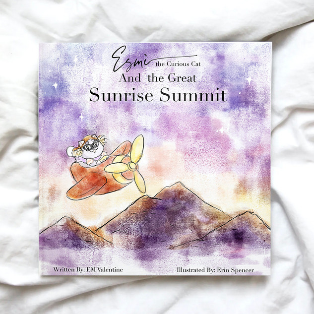 Esmè the Curious Cat and the Great Sunrise Summit