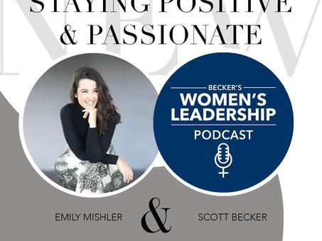 The Becker Women's Leadership Podcast with Scott Becker