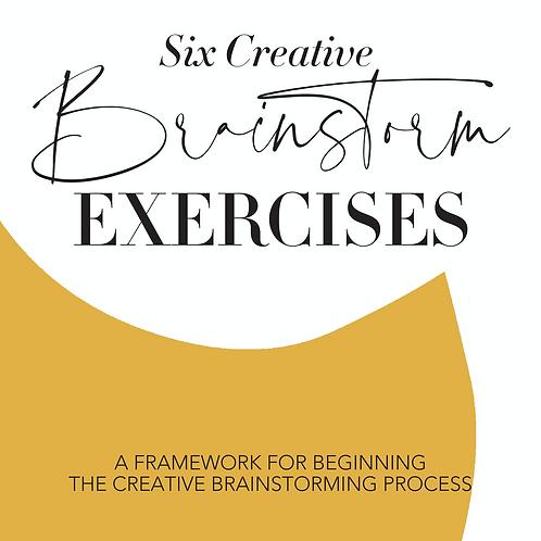 Six Creative Brainstorming Exercises