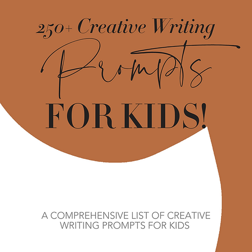 250+ Creative Writing Prompts for Kids