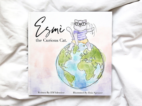 Esmè the Curious Cat: Hardcover