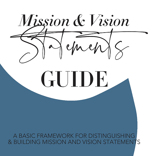 Mission & Vision Statements Guide