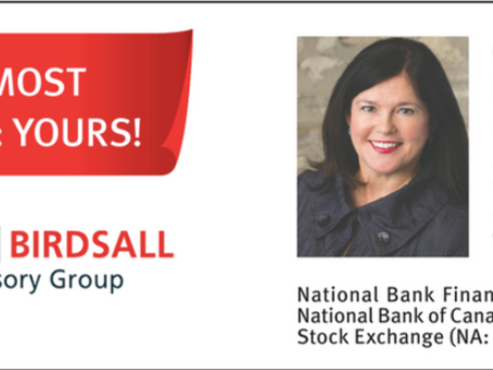 Welcome Aboard National Bank Financial!