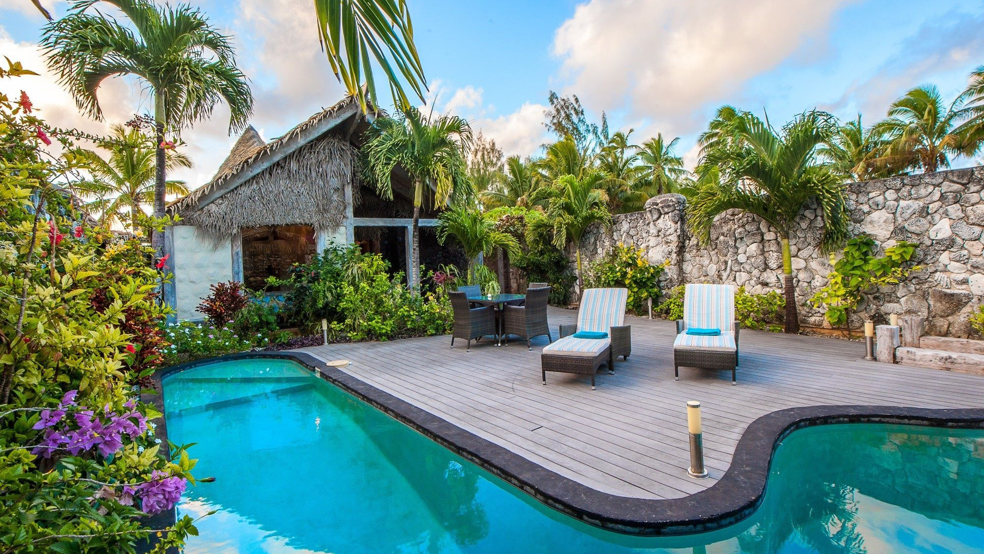 Private Courtyard and Pool