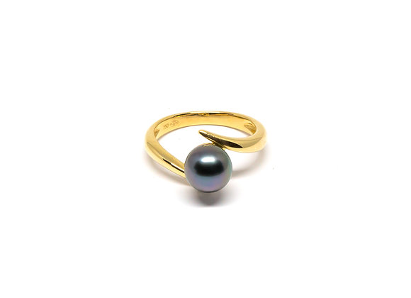 R13 Diagonal Pearl Ring