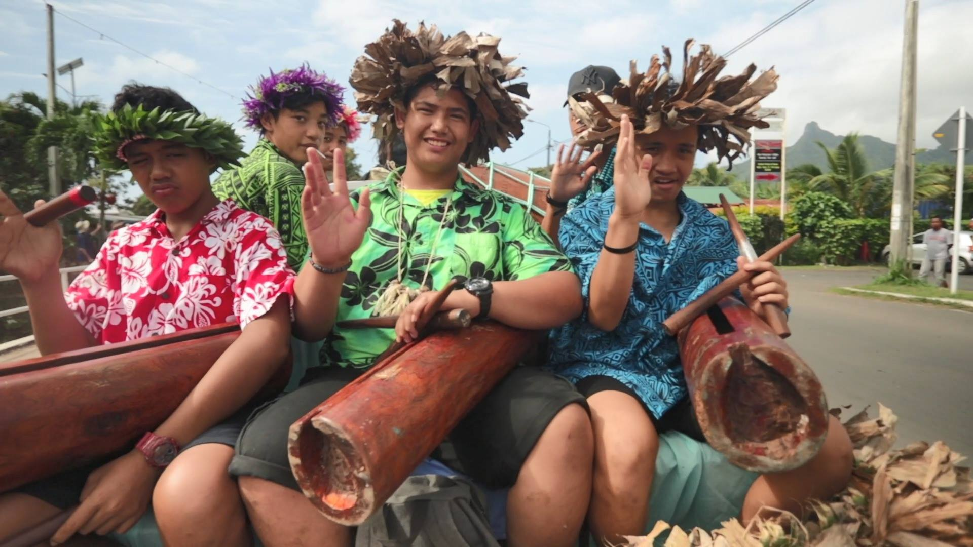 Te Maeva Nui Float Parade 2018