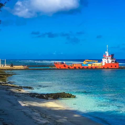 Visit the Local Mangaia Harbour