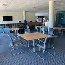 Before photo: Lounge Area