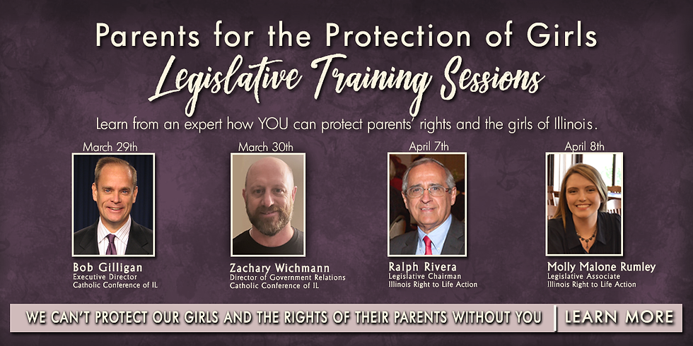Parents for the Protection of Girls Legislative Training Sessions