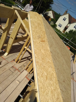 SIPs roof panels