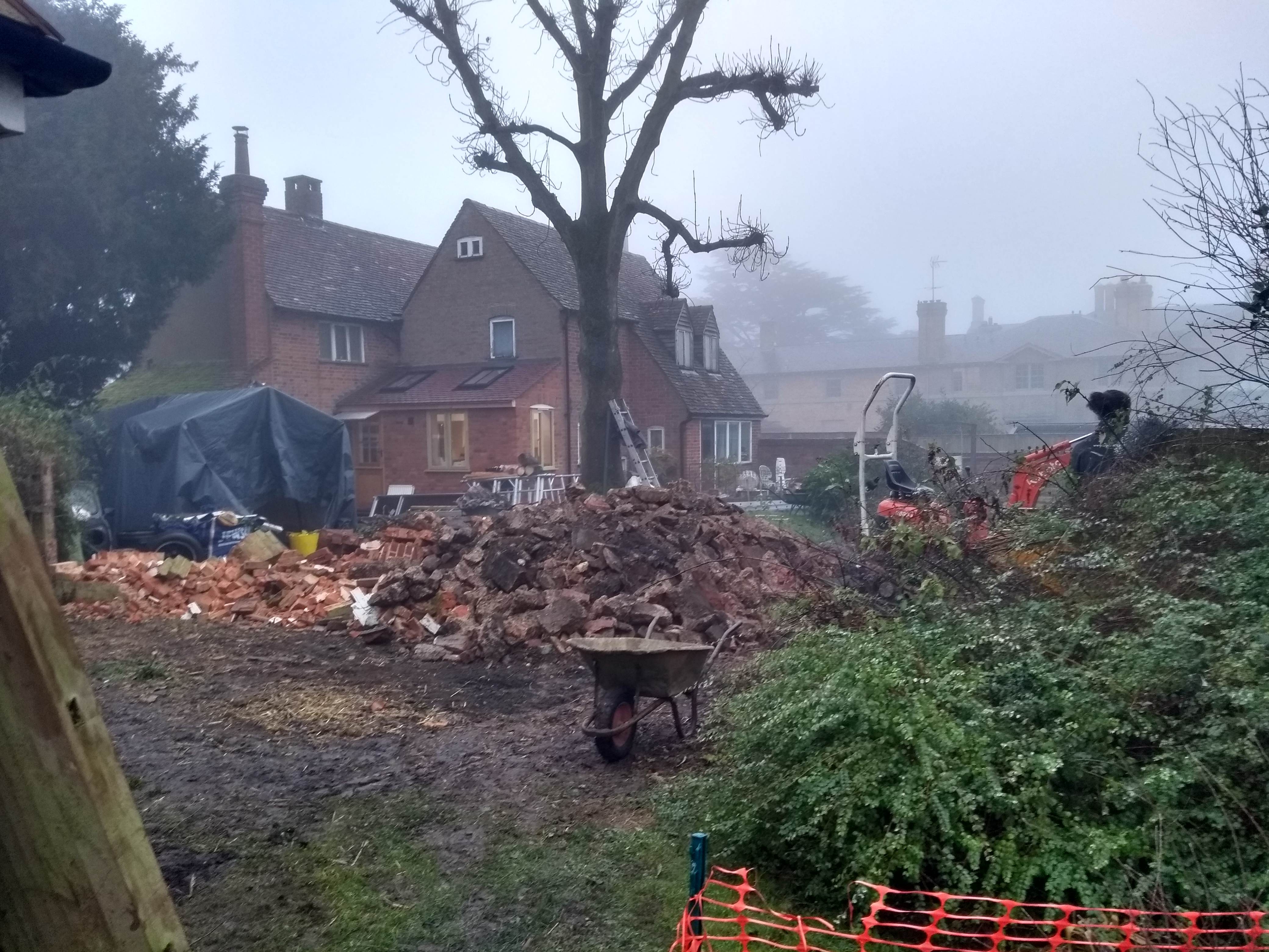 Demolition of existing structures