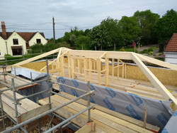 SIPs build ready for roof panels