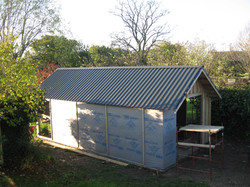 Timber frame insulated
