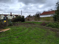 The site prior to groundworks