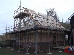 Gable ladder built