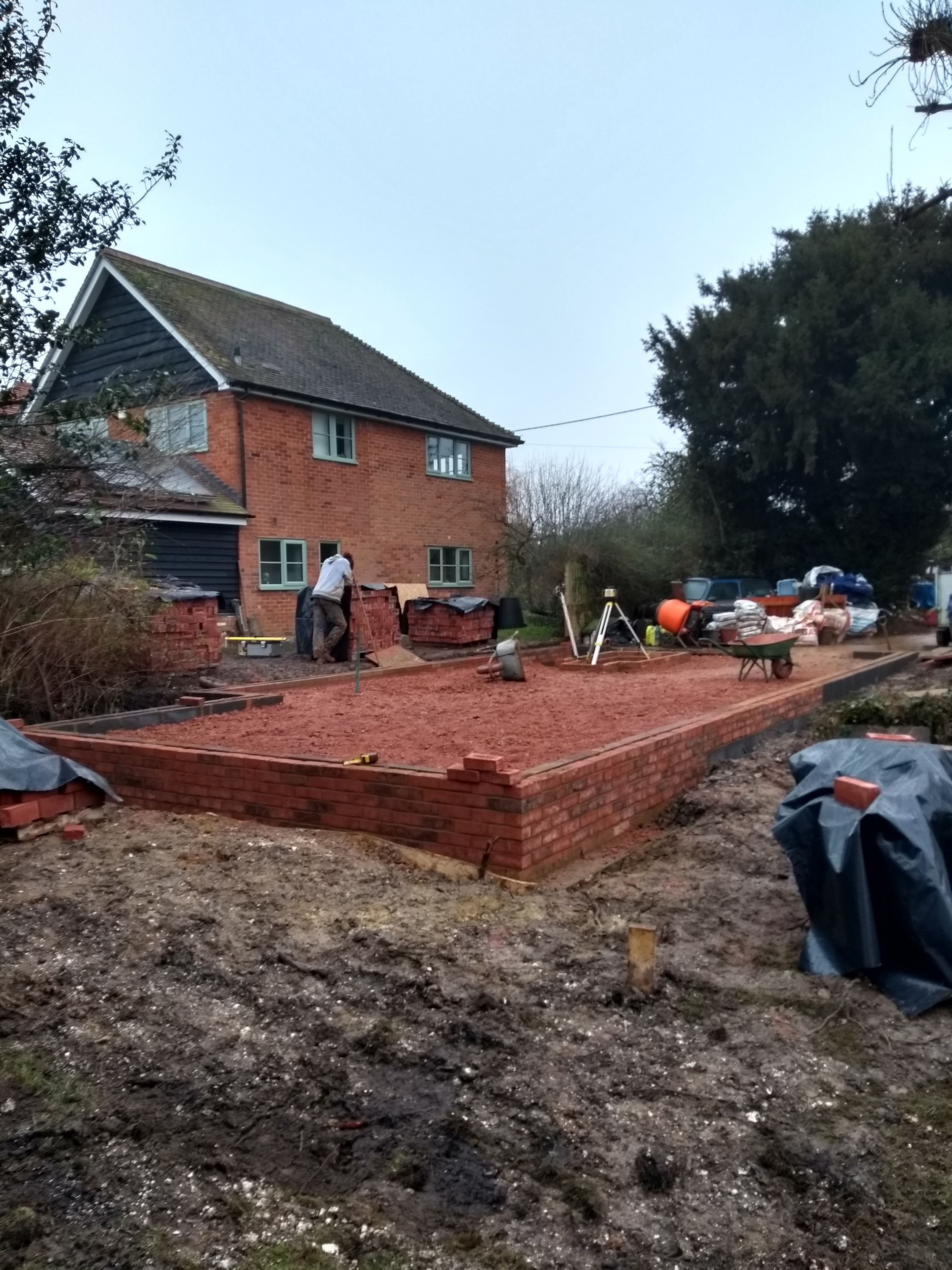Groundworks nearing completion