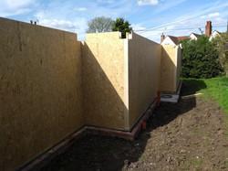 SIPs panel walls
